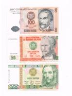 Lot De 3 Billets Neufs. - Pérou