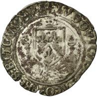 Monnaie, France, Louis XII, Douzain Au Porc-épic De Bretagne, 1507, Nantes - 987-1789 Monnaies Royales