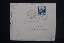 ROUMANIE - Affranchissement Plaisant De Bucarest Sur Enveloppe Pour Liège En 1940 Avec Contrôle Postal - L 26364 - 1918-1948 Ferdinand, Charles II & Michael