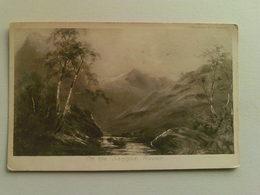 1904 Black And White  Postcard -  On The Sannox River - Scotland