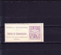 N°22 - Télégraphes Et Téléphones