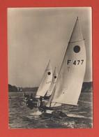 CP55 TRANSPORT BATEAUX VOILIERS 851  Année 1976 - Voiliers