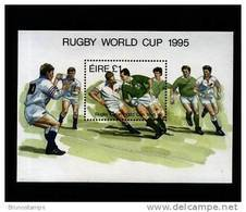 IRELAND/EIRE - 1995  RUGBY WORLD CUP  MS MINT NH - Blocchi & Foglietti
