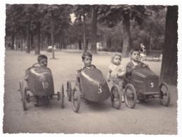 AUTO - MODELLO A PEDALI - PEDAL CAR - BAMBINI  - FOTO ORIGINALE - Automobili