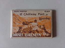 Le Château-fort De Lourdes Musée Pyrénéen 8 Photos ( 9 X 6.5 Cm ) - Lieux
