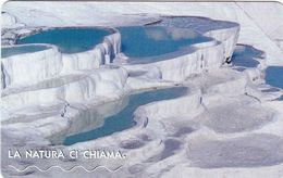 NUOVA- (Mint)-  1732- TELECOM ITALIA- -LA NATURA CI CHIAMA-PAMUKKALE - Public Practical Advertising