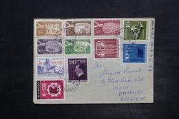 YOUGOSLAVIE - Affranchissement Plaisant Sur Enveloppe Pour La Belgique En 1956 - L 26381 - Covers & Documents