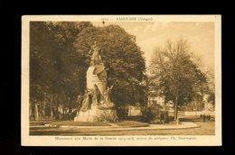 CPA - 88 - St DIE - MONUMENTS AUX MORTS DE LA GUERRE 1914-18 - Saint Die