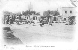 TUNISIE - KAIROUAN - Marché Près La Porte De Tunis - Tunisie