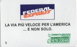 NUOVA-(Mint)-190-TELECOM ITALIA-  -PRIVATE PUBBLICHE-FEDERAL EXPRESS - Private - Tribute