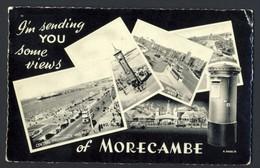 Views Of Morecambe - Silveresque Valentine K 2408/0 - Non Classés