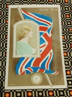 CPA ANGLETERRE GREAT BRITAIN - DRAPEAU ANGLAIS UNION JACK - Gabrielle Ray - Autres
