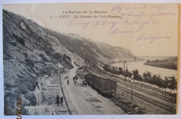 Frankreich Givet Bahnhof, Feldpost 1915 (14555) - Weltkrieg 1914-18
