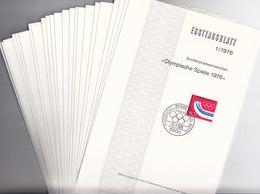 BRD ETB Jahrgang 1976, 23 Ersttagsblätter, Komplett - [7] Federal Republic