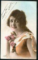 12108 CPA  Sainte Barbe : Jeune Femme Tenant Des Roses   1926 - Andere