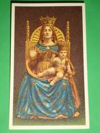 Madonna Dell'AIUTO - Statua Santuario  S.Maria In Piazza - BUSTO ARSIZIO,Varese - Santino - Santini