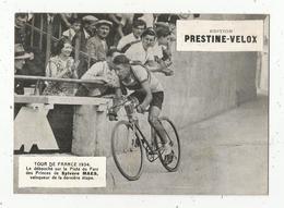 Photographie  , 175 X 125 Mm, Cyclisme,TOUR DE FRANCE 1934 , Piste Du Parc Des Princes, S. MAES,frais Fr1.55e - Ciclismo