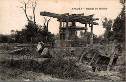 ANGRES  RUINES DU MOULIN - France