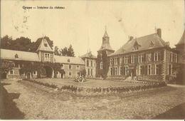 Grune -- Intérieur Du Château.  (2 Scans) - Nassogne