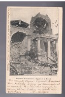 CHILE Terremoto De Valparaiso Templo  De La Merced 1906 OLD POSTCARD - Cile