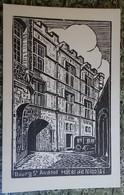 Cpa - 07 - Illustration Gravure - Bourg St Andéol - Hôtel De Nicolaï - France