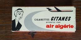 D - Paquet De 3? Cigarettes Gitanes Offert Par Air Algérie - Vide- - Empty Tobacco Boxes