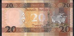 SOUTH SUDAN 13c 20 POUNDS 2017 UNC. - Südsudan