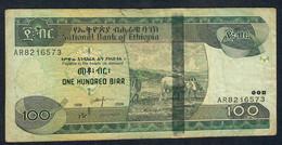 ETHIOPIA   P52c 100  BIRR 1998 / 2006  #AR    VF NO P.h. - Ethiopia