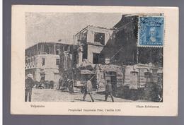 CHILE Valparaiso Plaza Echaurren 1907 OLD POSTCARD - Chili