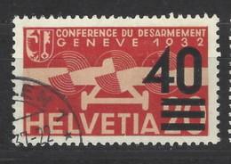 Svizzera - 1937 - Usato/used - Posta Aerea - Mi N. 310 - Oblitérés