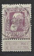 Belgio - 1905 - Usato/used - King Leopold II - Mi N. 77 - 1905 Barba Grossa