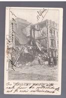CHILE Terremoto De Valparaiso Casa Del Sr Ruperto Alvarez 1907  OLD POSTCARD - Cile