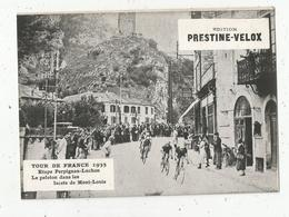 Photographie, 175x125 Mm, Cyclisme,TOUR DE FRANCE 1935, Perpignan-Luchon,les Lacets De Mont Louis,frais Fr 1.55 E - Ciclismo