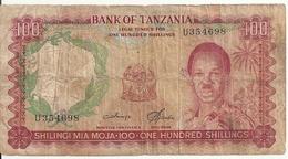 TANZANIE 1000 SHILINGS ND1966 VG+ P 5 B - Tanzanie