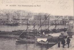 ALGER VUE GENERALE PRISE DU PORT  VG AUTENTICA 100% - Algeri