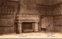 60 CHATEAU DE PIERREFONDS  LA CHAMBRE A COUCHER DU SEIGNEUR - Pierrefonds