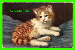 CATS, CHATS - CHATONS AU REPOS - A.  LAMERE -  EDITION STAHK - - Chats