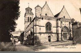 60 PIERREFONDS  L'EGLISE - Pierrefonds