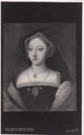 Mary Boleyn, Sister Of Anne Boleyn Queen Of England Henry VIII Painting On C1950s/60s Vintage Postcard - History