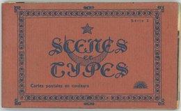 MAROC SCENES ET TYPES Série 2 : Carnet De 14 Cartes. - Maroc