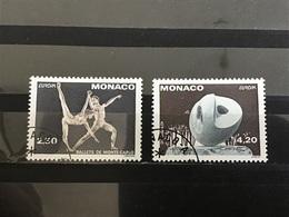 Monaco - Complete Set Europa, Hedendaagse Kunst 1993 - Gebruikt