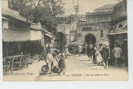 AFRIQUE - MAROC - TANGER - Une Rue Allant Au Socco - Tanger