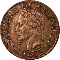 Monnaie, France, Napoleon III, Napoléon III, Centime, 1862, Bordeaux, SUP - A. 1 Centime