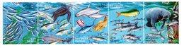 Mexique 1998-Tortue,dauphin,dugong,requin,poissons-YT 1805/30-Timbres De La Série***MNH - Vie Marine