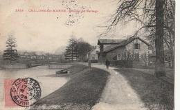 CHALONS Sur MARNE - Chemin Du Barrage - Châlons-sur-Marne