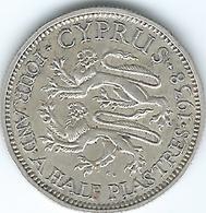 Cyprus - George VI - 1938 - 4½ Piastres - KM24 - Zypern