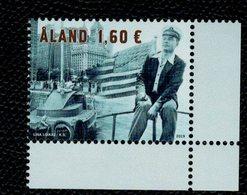 Aland 2019 Uno Ekblom's World Record - 80 Years 1v Complete Set  ** MNH - Aland