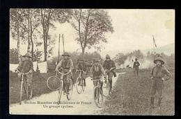 CPA 25 - Besançon - Section Bisontine Des Eclaireurs De France - Un Groupe Cycliste - 1914 - Besancon