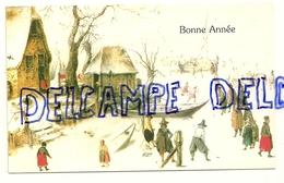Carte De Voeux De Bonne Année - Vieux Papiers
