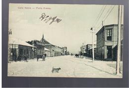 CHILE Punta Arenas Calle Nuble Ca  1910  OLD POSTCARD - Cile